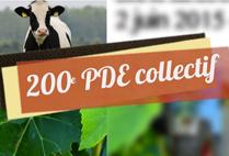 Réalisation 200ème PDE Collectif